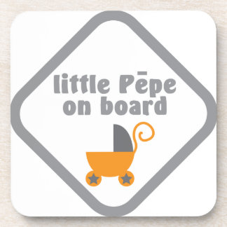 Little Pepe (Maori baby) on board Coasters