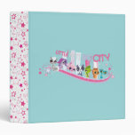 Little Pets Big City 3 Ring Binders