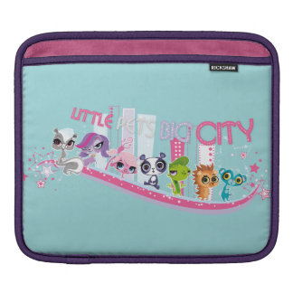 Little Pets Big City iPad Sleeve