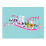 Little Pets Big City Postcard