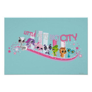 Little Pets Big City Poster