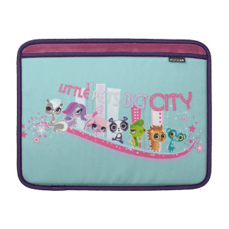 Little Pets Big City Sleeve For MacBook Air