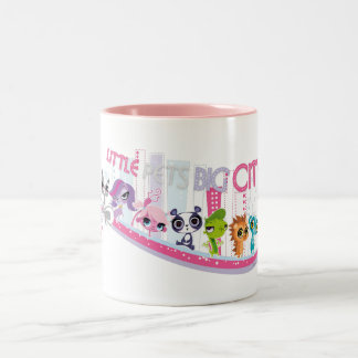 Little Pets Big City Two-Tone Coffee Mug