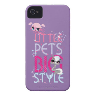 Little Pets Big Style 1 iPhone 4 Case-Mate Case