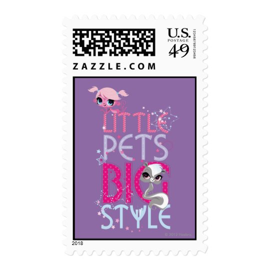 Little Pets Big Style 1 Postage