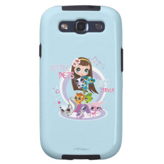 Little Pets Big Style 2 Samsung Galaxy SIII Case