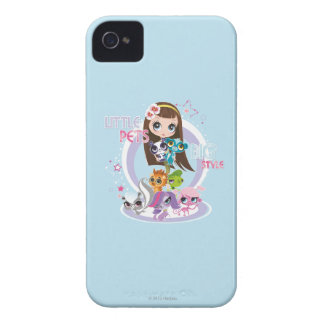 Little Pets Big Style 2 Case-Mate iPhone 4 Case