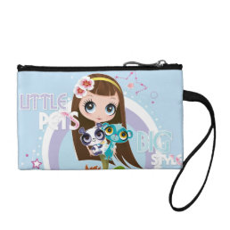Little Pets Big Style 2 Coin Wallet