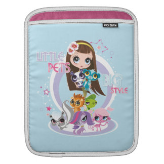 Little Pets Big Style 2 Sleeves For iPads
