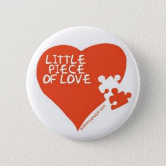 Little Piece of Love heart badge Pinback Button