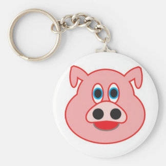 Little pig didactic illustration drawing pedagógic keychain