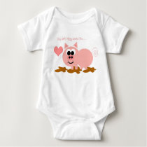 Little Pig Onsie Baby Bodysuit
