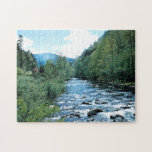 """Little Pigeon River Puzzle<br><div class=""""desc"""">Nature jigsaw puzzle featuring a historic photo of the Little Pigeon River in Tennessee from the earliest days of the Great Smoky Mountains National Park.</div>"""