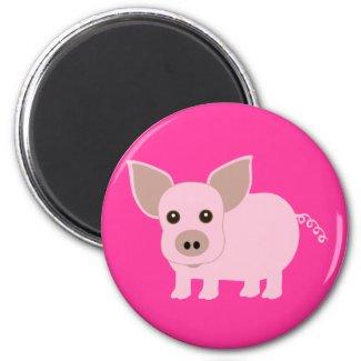 Little Piggie magnet