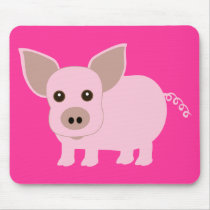 Little Piggie Mouse Pad