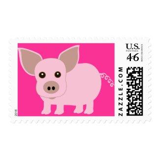 Little Piggie stamp
