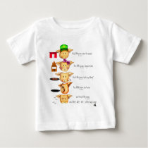 little piggies baby T-Shirt