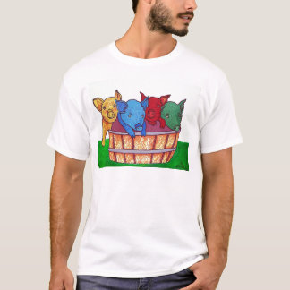 Little Piggies by Piliero T-Shirt