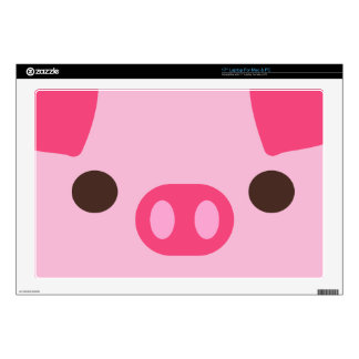 "Little Piggy 17"" Laptop Skins"