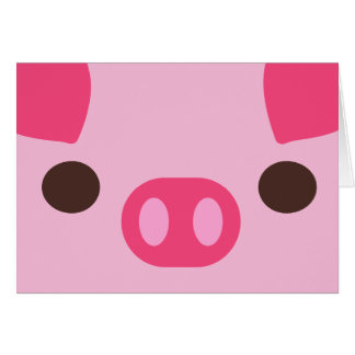 Little Piggy Card
