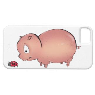 Little Piggy follows Ladybug iPhone SE/5/5s Case
