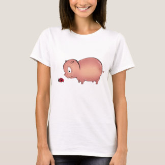 Little Piggy follows Ladybug T-Shirt