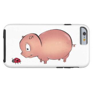Little Piggy follows Ladybug Tough iPhone 6 Case