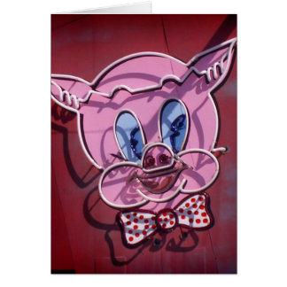 Little Piggy Notecard Greeting Card