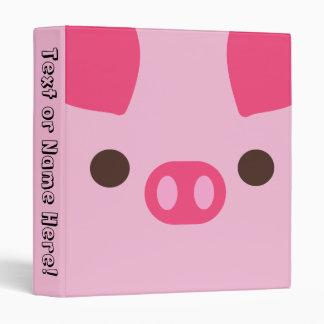 Little Piggy Personalized Binder