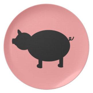Little Piggy Plate