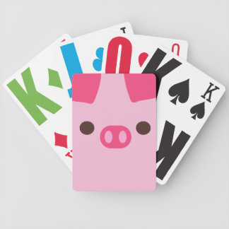 Little Piggy Bicycle Card Deck