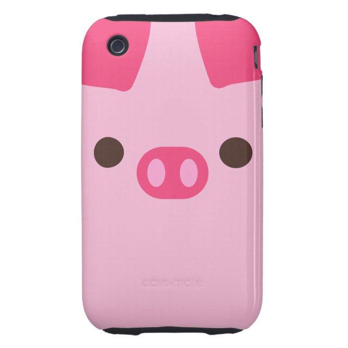 Little Piggy Tough iPhone 3 Cover