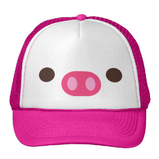 Little Piggy Trucker Hat