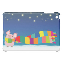 Little Pig's Christmas iPad Case