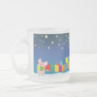 Little Pig's Christmas mug