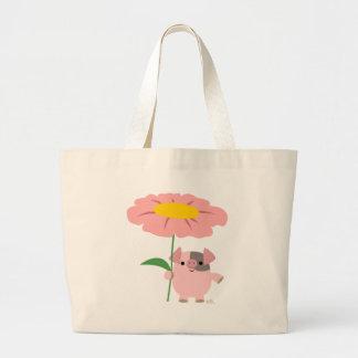 Little pig's greetings bag (pink)