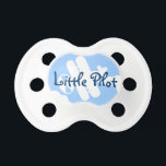 """Little pilot baby pacifier 