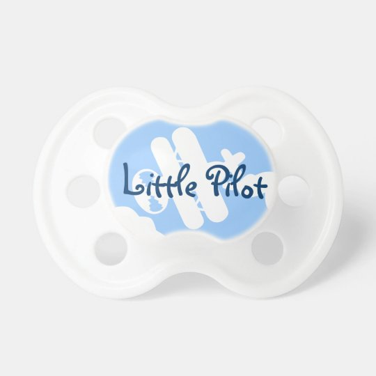 Little pilot baby pacifier | Airplane Soother