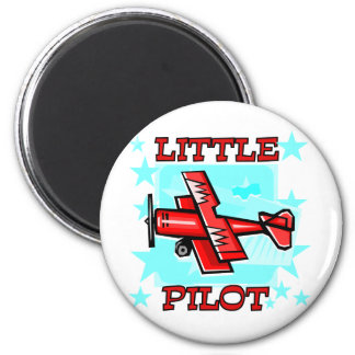 Little Pilot Tshirts and Gifts 2 Inch Round Magnet
