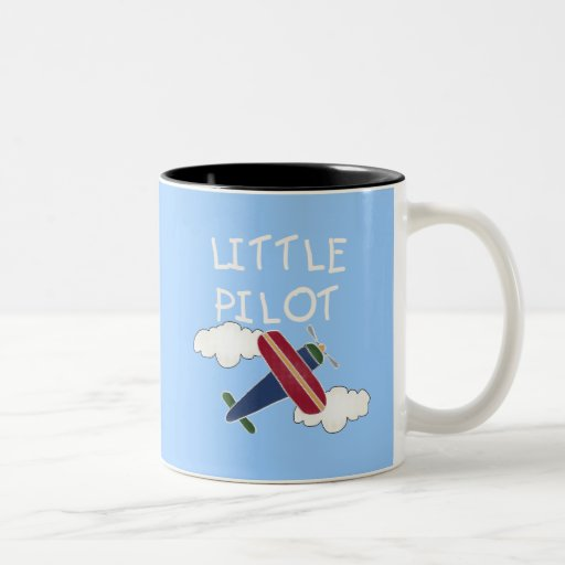 Little Pilot Tshirts and Gifts Coffee Mugs