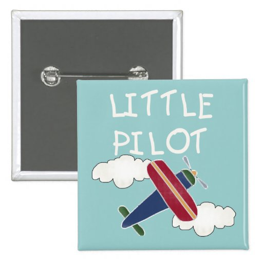 Little Pilot Tshirts and Gifts Pin