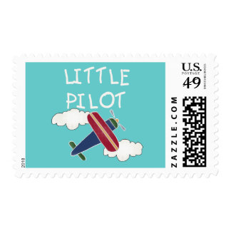 Little Pilot Tshirts and Gifts Postage Stamp