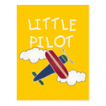 Little Pilot Tshirts and Gifts Postcards