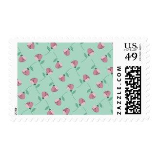Little Pink Birds Postage