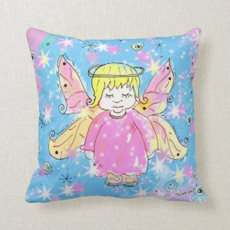 Little Pink Fairy  Pillow