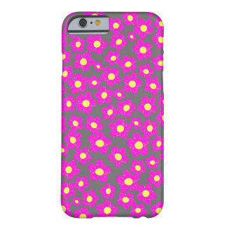 Little Pink Flowers, Barely There iPhone 6 Case