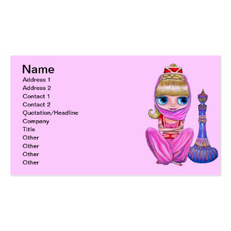 Little Pink Genie Business Card