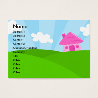 Little Pink House Profile Card