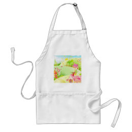 little pink houses adult apron