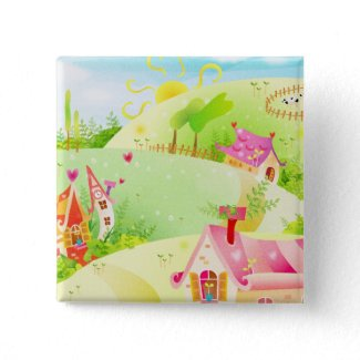 little pink houses button